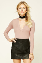 Forever 21 FOREVER 21+ Contemporary Sweater Bodysuit