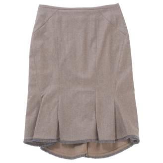Zac Posen \N Grey Wool Skirts