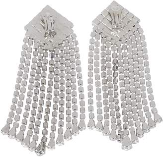 Alessandra Rich Square Clip Earrings