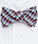 Daniel Cremieux Prep Plaid Silk Bow Tie
