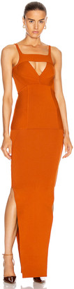 Rick Owens Easy Corona Dress in Orange | FWRD