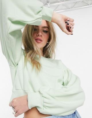 Bershka join life sweat top in mint