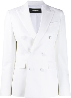 DSQUARED2 Plain Double-Breasted Blazer