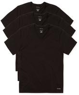 Calvin Klein Underwear Slim Fit V-Neck T-Shirt (3 PK)