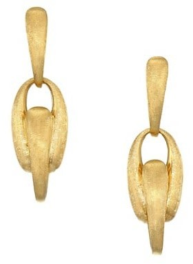 Marco Bicego Lucia 18K Yellow Gold Post Earrings
