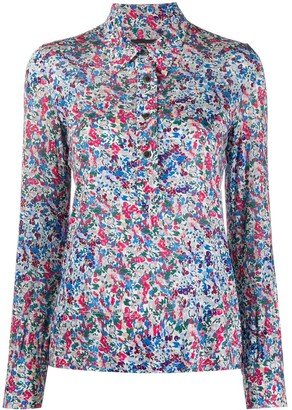Isabel Marant Fitted Floral Print Shirt