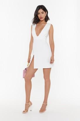Nasty Gal Womens Deep on Dancing Mini Dress - White - 10