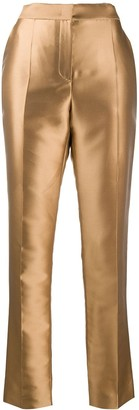 Alberta Ferretti Straight Leg Tailored Trousers