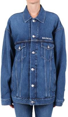 Balenciaga Oversized Denim Jacket