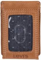 Levi's Men's Rfid-Blocking Magnetic Front-Pocket Wallet