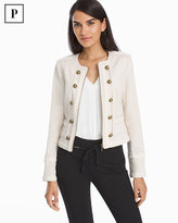 White House Black Market Petite Band Jacket