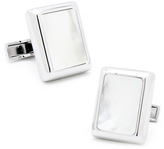 Ravi Ratan Silver and Mother of Pearl JFK Presidential Cufflinks
