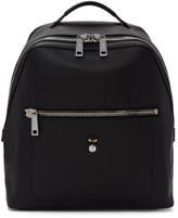 Fendi Black Leather micro Bugs Backpack