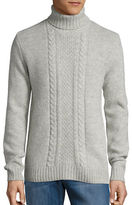 Strellson Cable Knit Turtleneck Sweater