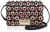 Zac Posen Earthette Floral Leather Crossbody