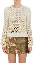 Marc Jacobs Women's Paillette-Embellished Wool-Cashmere Sweater