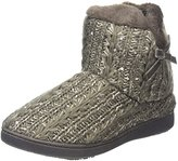 Isotoner Sparkle Knit Pillowstep Bootie, Women Low-Top,(37 EU)