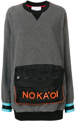 NO KA 'OI No Ka' Oi pouch sweatshirt