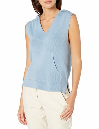 Baja East Unisex Stretch Cotton Rib Sleeveless Pullover