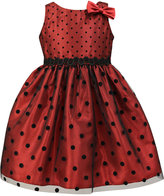 Jayne Copeland Polka-Dot Special Occasion Dress, Toddler Girls (2T-5T) & Little Girls (2-6X)