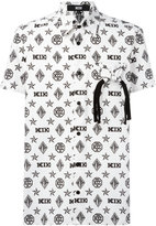 Kokon To Zai monogram shortsleeved shirt - men - Cotton - M
