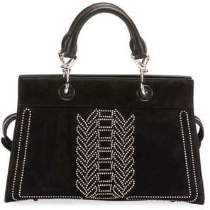 Altuzarra Shadow Suede Studded Tote Bag