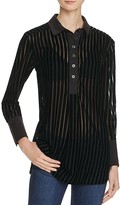 Free People Let's Get It On Stripe Shirt