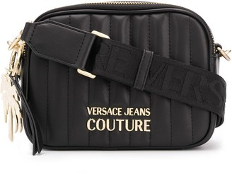 Versace Quilted Cross-Body Bag