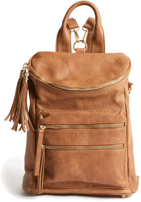 Design Studio Mms MMS Katie Convertible Backpack Tan 1 Size