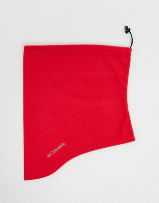 Columbia trail shaker gaiter in red