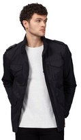 Red Herring Big And Tall Black Pocket Jacket