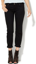 New York & Co. Soho Jeans - Curvy Boyfriend - Black