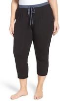 DKNY Plus Size Women's Crop Lounge Pants