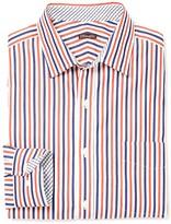J.Mclaughlin Gramercy Classic Fit Shirt in Stripe
