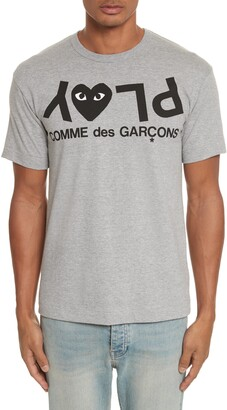 Comme des Garcons Upside Down Graphic Tee