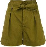 Etoile Isabel Marant high-waisted shorts - women - Cotton - 40