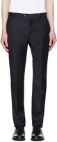 éditions M.r Navy Tailored Wool Trousers