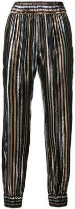 HANEY Colette stripe trousers