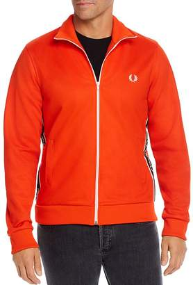 Fred Perry Logo-Tape Track Jacket