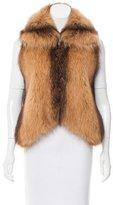 J. Mendel Fox Fur Vest