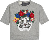 Gucci Crochet cotton tiger jumper 6-36 months