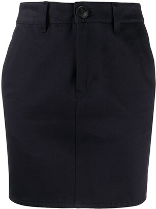 AMI Paris Fitted Mini Skirt