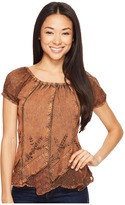 Scully Honey Creek Caitlyn Top Women's Blouse