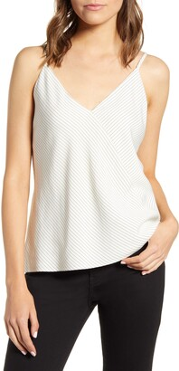 7 For All Mankind Cross Stripe Camisole