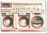 Paul Smith 'Boom Box' print zipped coin pouch