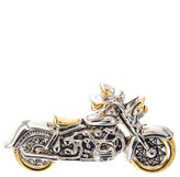 Vintage Motorcycle Brooch