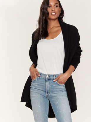 360 Cashmere April Oversized Open Front Cardigan