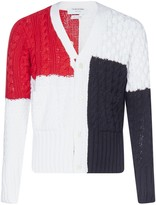 Thom Browne Colour Block Cardigan
