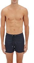 Sundek MEN'S NYLON SWIM TRUNKS-NAVY, BLACK SIZE 28