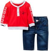 True Religion Tee & Jean Set (Baby Boys)